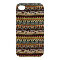 Aztec Pattern Apple Iphone 4/4s Hardshell Case by BangZart