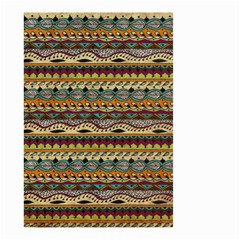 Aztec Pattern Small Garden Flag (two Sides) by BangZart