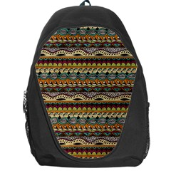 Aztec Pattern Backpack Bag