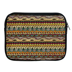 Aztec Pattern Apple Ipad 2/3/4 Zipper Cases by BangZart