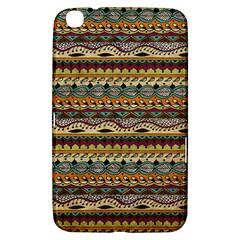 Aztec Pattern Samsung Galaxy Tab 3 (8 ) T3100 Hardshell Case  by BangZart