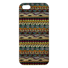 Aztec Pattern Iphone 5s/ Se Premium Hardshell Case by BangZart