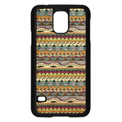 Aztec Pattern Samsung Galaxy S5 Case (black)
