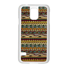 Aztec Pattern Samsung Galaxy S5 Case (white)