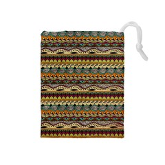 Aztec Pattern Drawstring Pouches (medium)