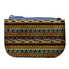 Aztec Pattern Large Coin Purse by BangZart