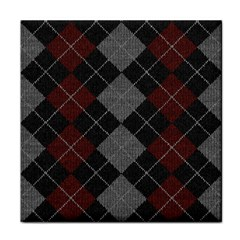 Wool Texture With Great Pattern Tile Coasters by BangZart