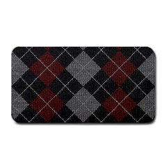 Wool Texture With Great Pattern Medium Bar Mats by BangZart