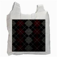 Wool Texture With Great Pattern Recycle Bag (one Side) by BangZart
