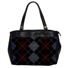 Wool Texture With Great Pattern Office Handbags