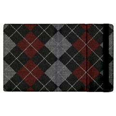 Wool Texture With Great Pattern Apple Ipad 2 Flip Case by BangZart