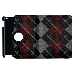 Wool Texture With Great Pattern Apple Ipad 2 Flip 360 Case by BangZart