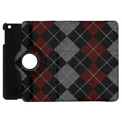 Wool Texture With Great Pattern Apple Ipad Mini Flip 360 Case