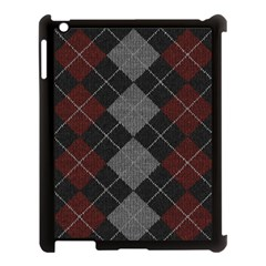 Wool Texture With Great Pattern Apple Ipad 3/4 Case (black) by BangZart