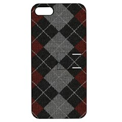 Wool Texture With Great Pattern Apple Iphone 5 Hardshell Case With Stand