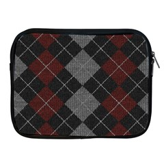 Wool Texture With Great Pattern Apple Ipad 2/3/4 Zipper Cases