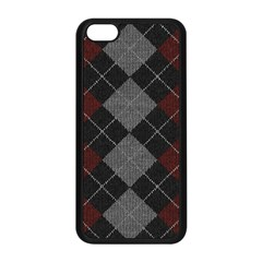 Wool Texture With Great Pattern Apple Iphone 5c Seamless Case (black)
