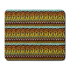 Bohemian Fabric Pattern Large Mousepads by BangZart