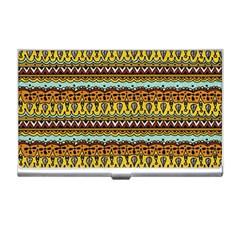 Bohemian Fabric Pattern Business Card Holders by BangZart