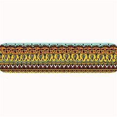 Bohemian Fabric Pattern Large Bar Mats by BangZart