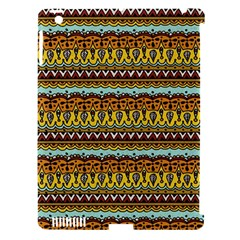 Bohemian Fabric Pattern Apple Ipad 3/4 Hardshell Case (compatible With Smart Cover) by BangZart