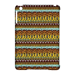 Bohemian Fabric Pattern Apple Ipad Mini Hardshell Case (compatible With Smart Cover) by BangZart