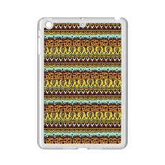 Bohemian Fabric Pattern Ipad Mini 2 Enamel Coated Cases by BangZart