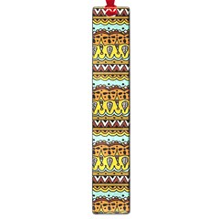 Bohemian Fabric Pattern Large Book Marks