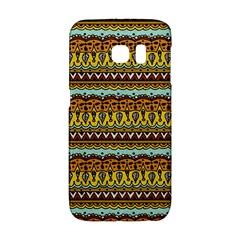 Bohemian Fabric Pattern Galaxy S6 Edge by BangZart