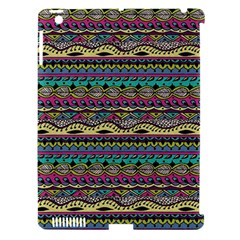 Aztec Pattern Cool Colors Apple Ipad 3/4 Hardshell Case (compatible With Smart Cover)