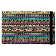 Aztec Pattern Cool Colors Apple Ipad 2 Flip Case by BangZart