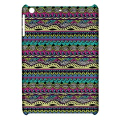 Aztec Pattern Cool Colors Apple Ipad Mini Hardshell Case by BangZart