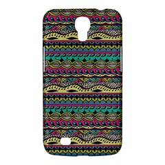 Aztec Pattern Cool Colors Samsung Galaxy Mega 6 3  I9200 Hardshell Case by BangZart