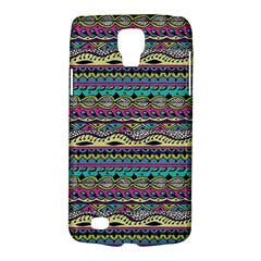 Aztec Pattern Cool Colors Galaxy S4 Active by BangZart