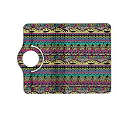 Aztec Pattern Cool Colors Kindle Fire Hd (2013) Flip 360 Case by BangZart