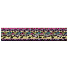 Aztec Pattern Cool Colors Flano Scarf (small) by BangZart