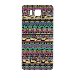 Aztec Pattern Cool Colors Samsung Galaxy Alpha Hardshell Back Case by BangZart