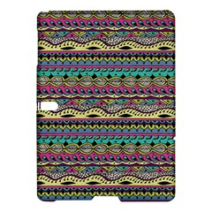Aztec Pattern Cool Colors Samsung Galaxy Tab S (10 5 ) Hardshell Case  by BangZart
