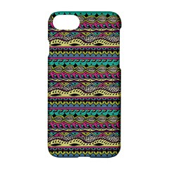 Aztec Pattern Cool Colors Apple iPhone 7 Hardshell Case