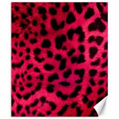 Leopard Skin Canvas 8  X 10