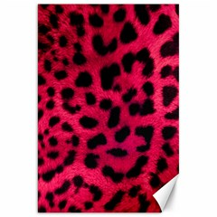 Leopard Skin Canvas 20  X 30   by BangZart