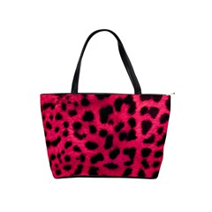 Leopard Skin Shoulder Handbags by BangZart