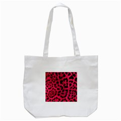 Leopard Skin Tote Bag (white) by BangZart