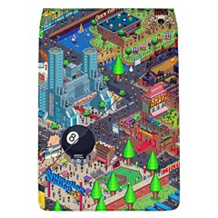 Pixel Art City Flap Covers (l)  by BangZart