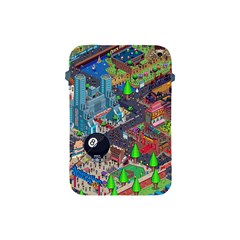 Pixel Art City Apple Ipad Mini Protective Soft Cases by BangZart