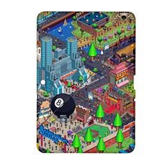 Pixel Art City Samsung Galaxy Tab 2 (10 1 ) P5100 Hardshell Case