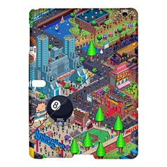 Pixel Art City Samsung Galaxy Tab S (10 5 ) Hardshell Case  by BangZart