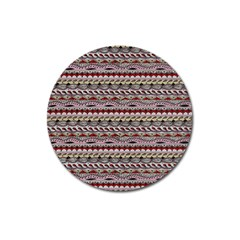 Aztec Pattern Patterns Magnet 3  (round)