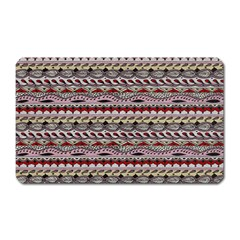 Aztec Pattern Patterns Magnet (rectangular)