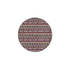 Aztec Pattern Patterns Golf Ball Marker (10 Pack)